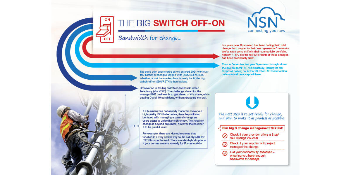 The Big Switch Off/On..
